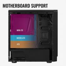 Aerocool Rift RGB Window Black